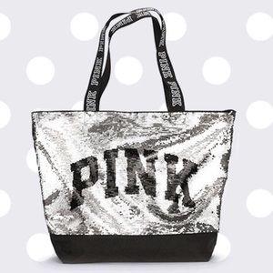 Victoria's Secret PINK Black Friday Sequin Tote